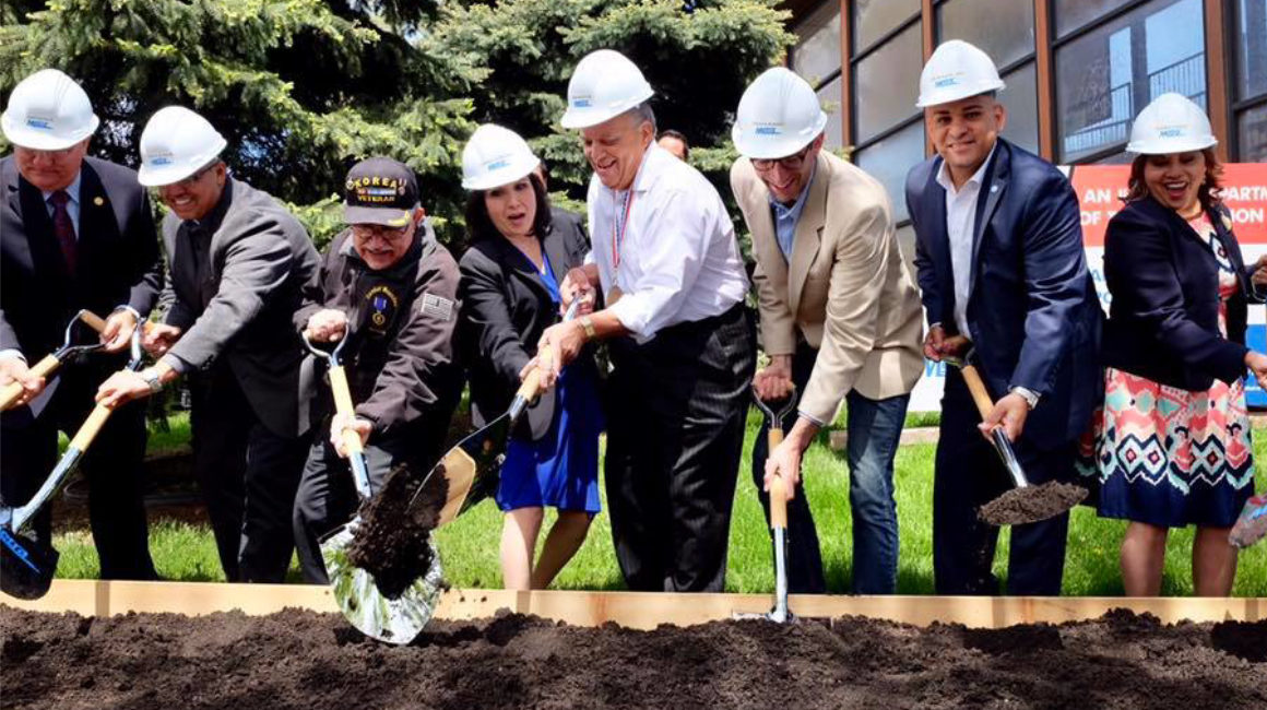 Metra breaks ground on Healy Station renovation project