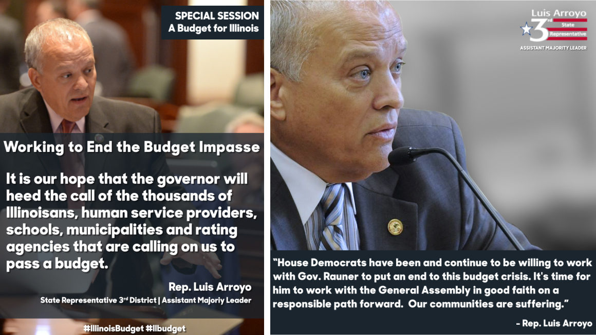 Working to End the Budget Impasse